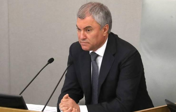 Vologyint választották meg ismét az orosz parlamenti alsóház elnökének