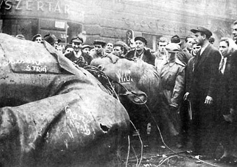 A zsidó rémuralom és a szovjet megszállás elleni bátor és tiszta harcunk tölt ma el újult erővel