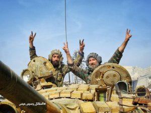 Kelet-Ghouta negyven százalékát felszabadították a szír katonák (képek, videók)