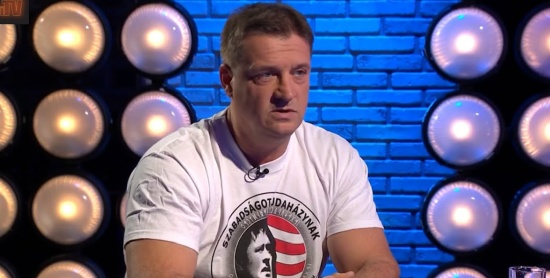 Budaházy a Pesti TV-ben: ha Gyurcsányék megúszták, minket miért hurcolnak meg?