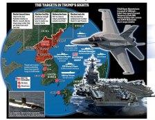 NBC: A Pentagon megelőző csapásra készül Észak-Korea ellen