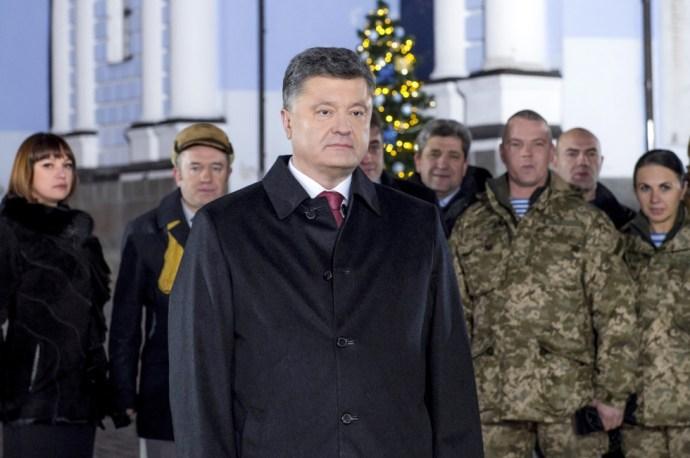 Porosenko: Megnyerjük a  háborút