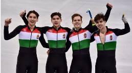 Jókívánság az olimpiai bajnok gyorskorcsolyázóknak és válasz a rosszmájúaknak