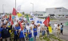 Győztek a sztrájkolók: meghátrált a Hankook