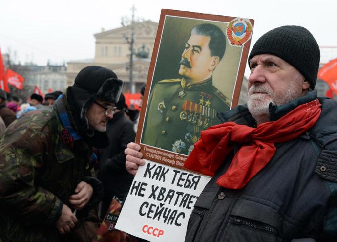 """""""Nagyon hiányzol, Szovjetunió!"""" – Kommunisták tüntettek Moszkvában"""
