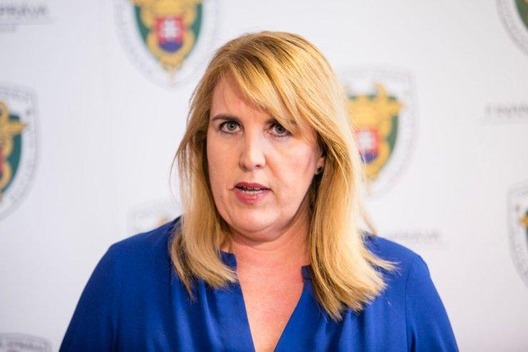 Lenka Witternbergerová, aPénzügyi Igazgatóság volt vezetője beismerte, hogy korrupciót követett el