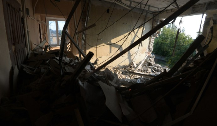 Ukrán erőstruktúrák a felkelők 13 Grad rendszerének megsemmisítését jelentették be