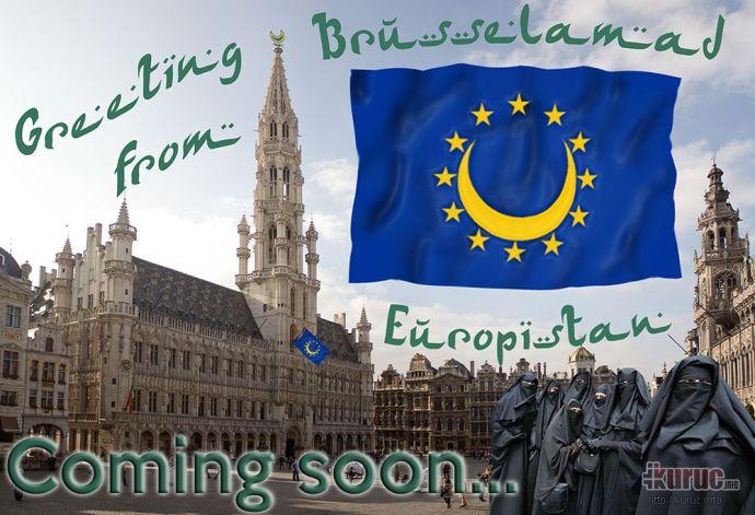 Üdvözlet az europisztáni Brüsszelamadból