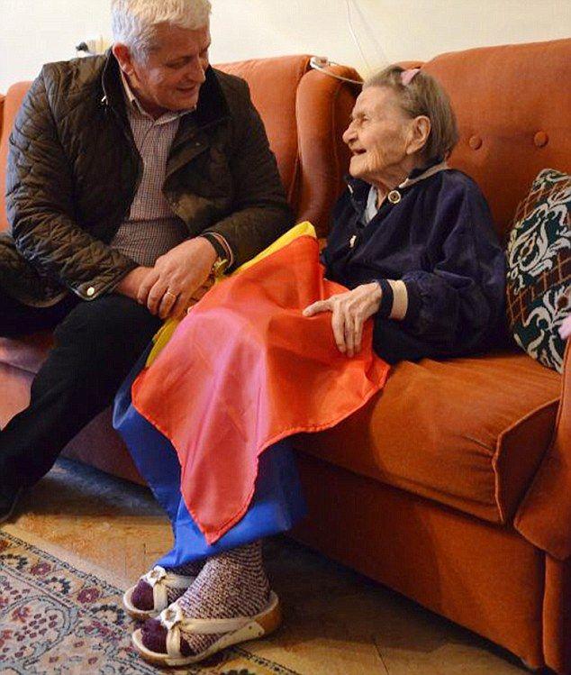 101 éves holotúlélő matróna csodálatos kiszabadulása a gázkamrából