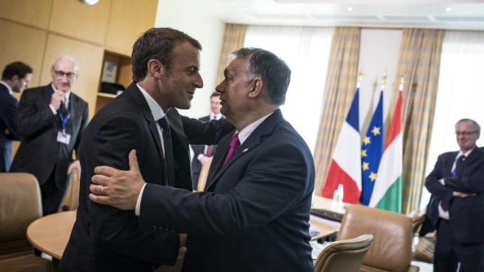 """The Spectator: Orbán és Macron lehet Európa új """"hatalmi párosa"""""""