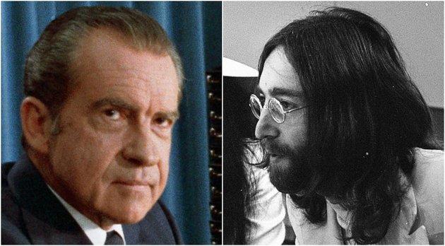 Az FBI-t is bevetette John Lennon kiutasítása érdekében a tőle rettegő Nixon elnök