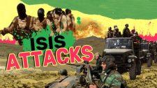 Az ISIS terroristák támadássorozatai folytatódnak a szíriai sivatagban