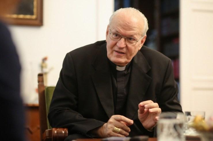Erdő Péter bíboros: Vegyünk részt személyesen az eucharisztikus kongresszuson, a közös ünneplésben