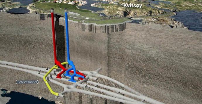 A norvégok avilág leghosszabb és legmélyebb tenger alatti alagútját építik (videó)
