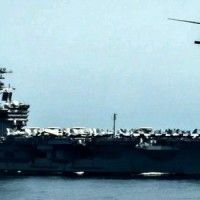 Egy iráni hadihajó egy amerikai helikopterre irányította fegyvereit