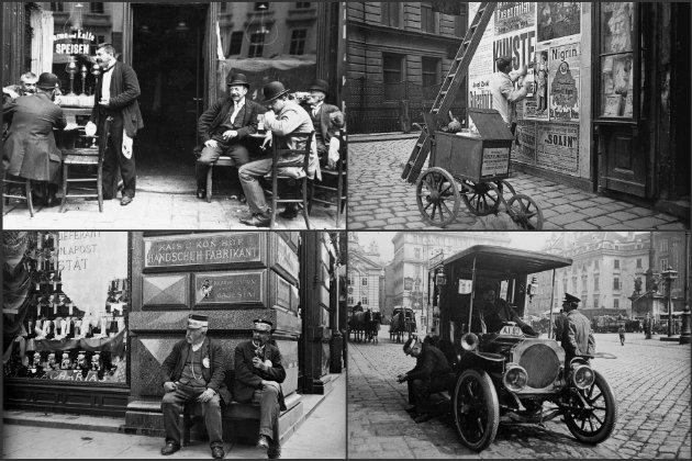 Lenyűgöző fotók a századfordulós Bécs mindennapjairól