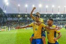 Mámorban a MOL Aréna: gólparádét rendezett a DAC a Slovan ellen!