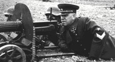 Sorkatonából vált Berlin elfoglalójává Zsukov marsall