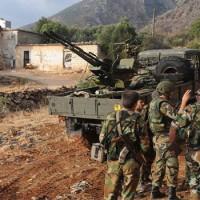 Szíria: Több fronton offenzívát indítottak a kormányerők