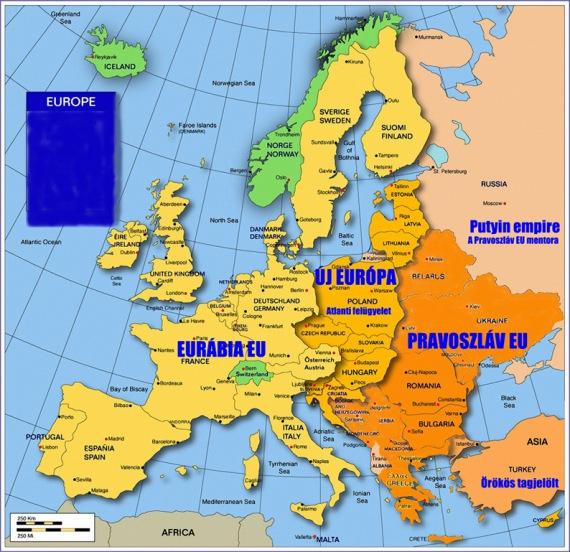 CIA: Az EU 2020-ra 3 felé szakad. Mi, magyarok, középen maradunk!