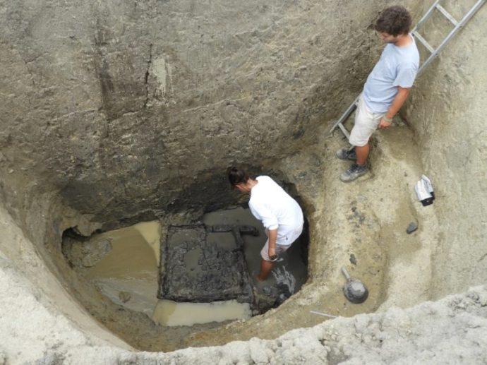 Európa legrégebbi kútját találták meg a Tiszánál