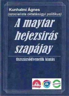 A maytar hejezsírás szapájay