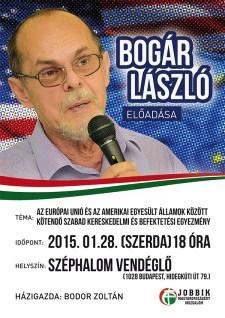 Budapest II. – Bogár László előadása