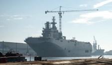 Franciaországban vízre bocsátották a Szevasztopol-t
