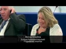 Morvai Krisztina kényes kérdései a Birodalmi Biztoshoz