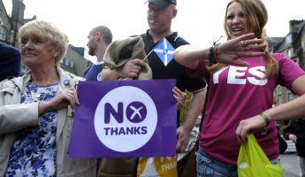Pánikhangulat Skócia elszakadása miatt