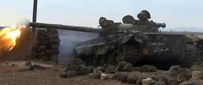 Kormányzati előretörések Szíriában