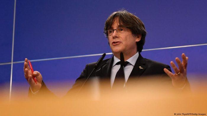 Letartóztatták a volt katalán elnököt