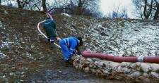 Megsérült aLaborc gátja – lakott terület nincs veszélyben