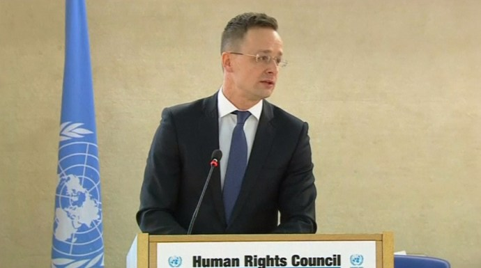 A magyar kormány lett az elrettentő példa Genfben