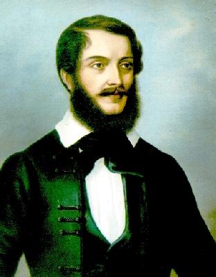 Kossuth Windisch-Grätz ágyában