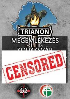 Gyorshír! Nem engedélyezik a kolozsvári Trianon-megemlékezést!
