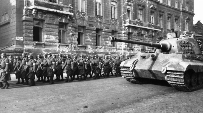 Archív felvételek: Budapest Ostroma 1944-1945