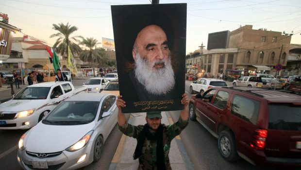 Sistani ajatollah elutasítja Trump amerikai csapatokkal kapcsolatos terveit Irakban
