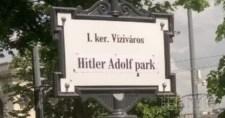 Máris Hitler Adolf park lett a frissen átnevezett Jeruzsálem parkból