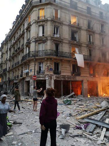 Robbanás Párizs belvárosában az Operához közel, többen megsérültek (VIDEÓ)