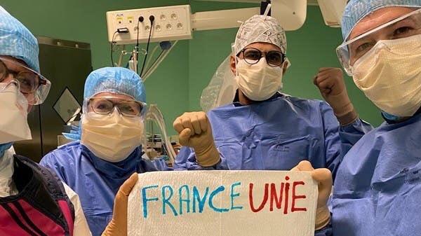 Nem az EU, hanem 280 szaúdi orvos segít Franciaországnak a koronavírus elleni harcban