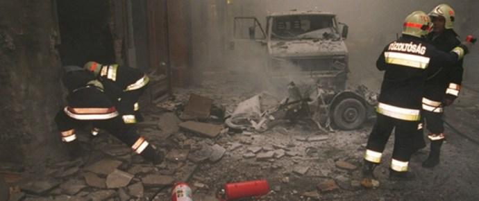 Csak a holttestét találták meg az Aranykéz utcai robbantónak