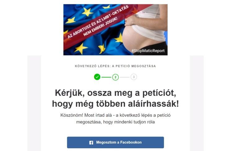 Petíció az EP-képviselőkhöz: Szavazzanak NEM-mel az abortusz- és LMBT-törekvések Matić-jelentésére!