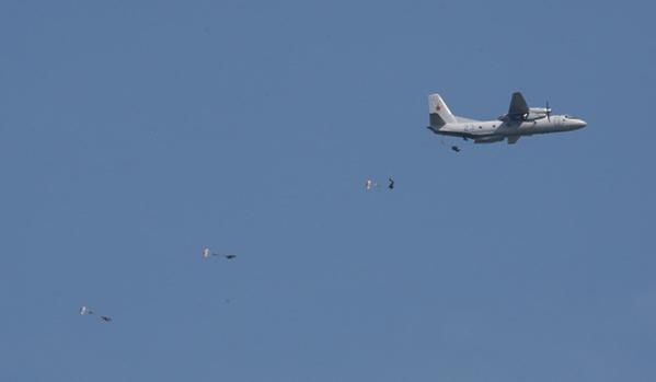 Orosz légideszant szállt ki az Arktiszban