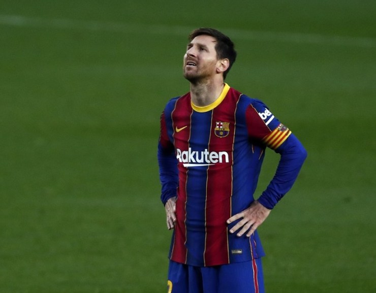 Lionel Messi nem marad az FC Barcelonánál