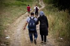 A kerítés hatására Szerbia menekülttáborokat épít