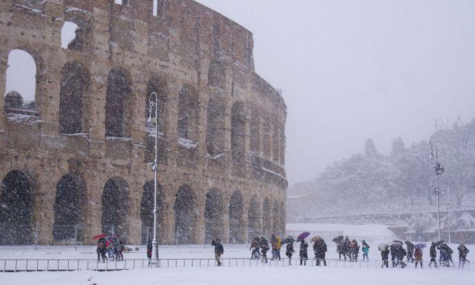 Megvan, mi okozza a késő téli szokatlanul hideg időjárást Európában