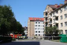 GALÉRIA: Erős robbanás rázta meg a svédországi Linköpinget, többen megsérültek