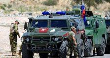 Orosz katonai járőrt támadtak meg a terroristák Dél-Szíriában