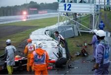 Megrázó fotók láttak napvilágot Bianchi mentéséről